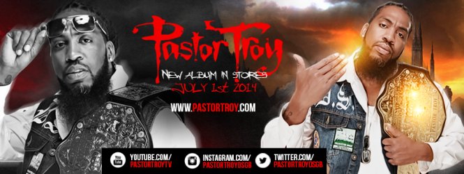 Follow Pastor Troy on Social Media