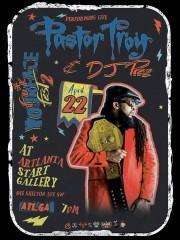 Pastor Troy and DJ Prez Live at Artlanta Start Gallery